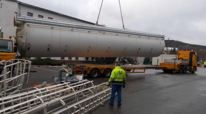 Rückbau einer Tankanlage zur Verwertung