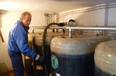 Wartung (auch Reinigung) einer Tankanlage