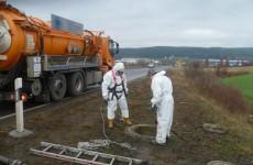 Wartung Ölabscheider